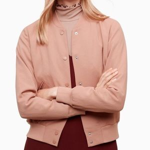 Wilfred Jackets & Coats - Aritzia Wilfred Poussin Bomber Jacket